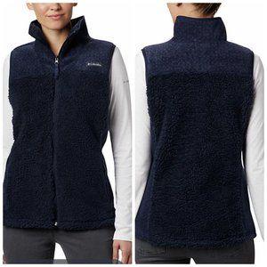 NWT Columbia Womens Winter Pass Fleece Vest Sz XL